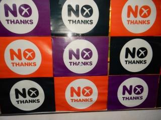 """""""No"""" signs"""