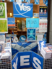 """""""Yes"""" campaign hq"""