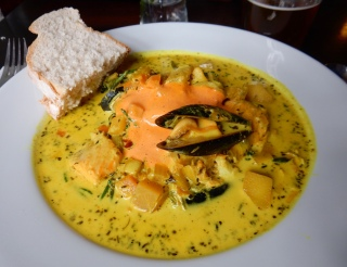 Seafood stew, Leith