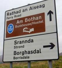 Sign, Outer Hebrides