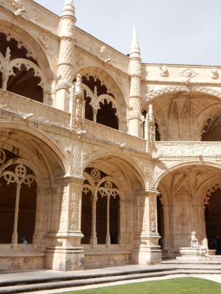 Cloister at Monastery of Jerónimos
