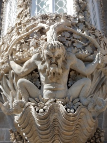 Gargoyle, Pena Palace, Sintra