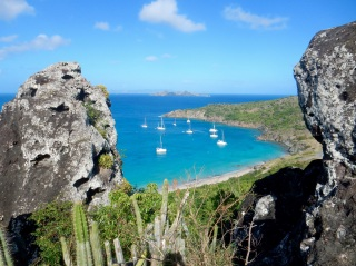 Anse du Columbier, Saint-Barth