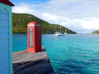 Marina Cay, BVIs