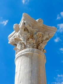 Kourion column