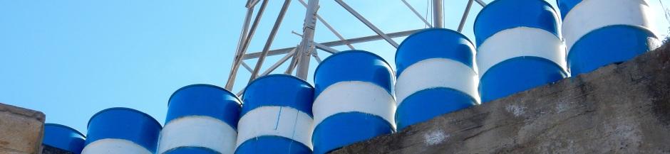 UN barrels