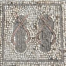Sandal mosaic