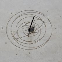 Fake sundial, San Gimignano