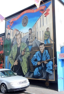 Unionist mural, Belfast