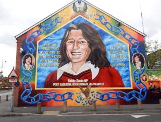 Bobby Sands' mural, Belfast