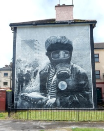 Republican mural, Derry/Londonderry