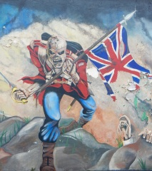 Unionist mural, Derry/Londonderry