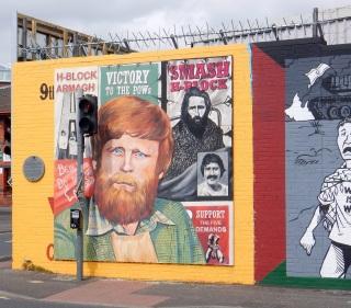 Republican mural, Belfast