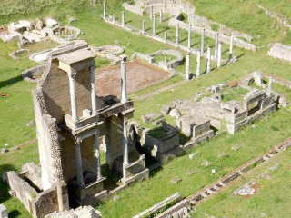 Roman amphitheater, Volterra
