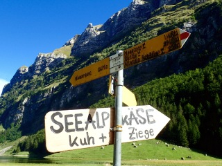 Seealpsee sign