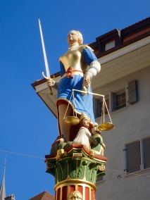 Lady Justice, Lausanne