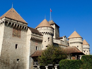 Chateau de Chillon, Veytaux-Chillon