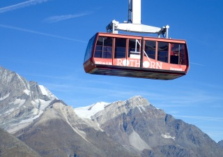 Rothorn cable car