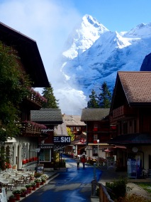 View of Eiger from Mürren