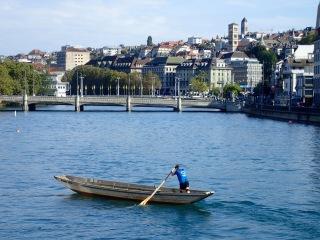 River Limmat, Zürich