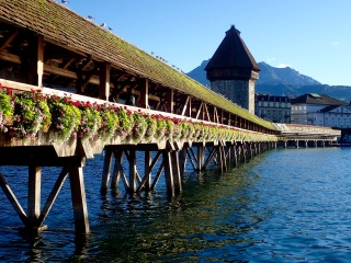 Chapel Bridge and Water Tower, Luzern