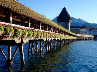 Chapel Bridge and Water Tower, Luzern