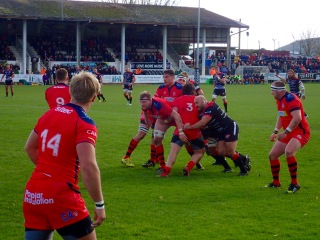 Rugby match, Penzance