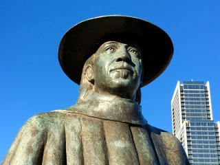 Statue, Stevie Ray Vaughan