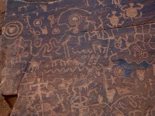 V-Bar-B petroglyphs