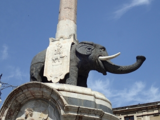 Fountain of the Elephant, Catania