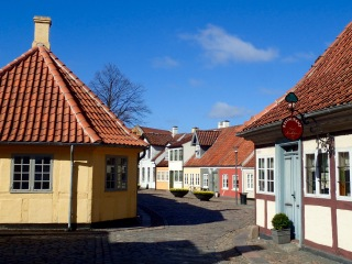 Andersen's birthplace, Odense