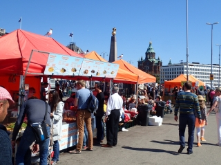 Harbor market, Helsinki
