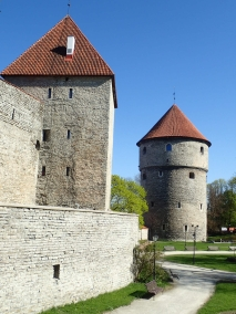 Maiden & Kiek in de Kök towers, Tallinn