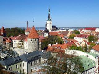 View toward harbor from Patluki, Tallinn