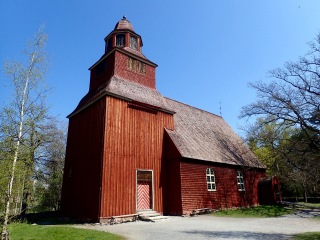 Seglora Church, Skansen