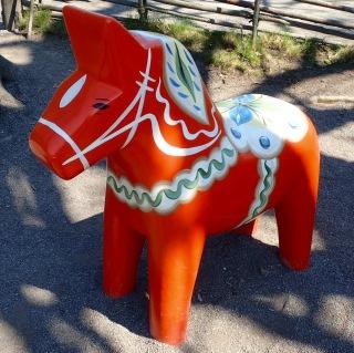 Dalecarlian horse, Skansen