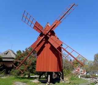 Windmill, Skansen