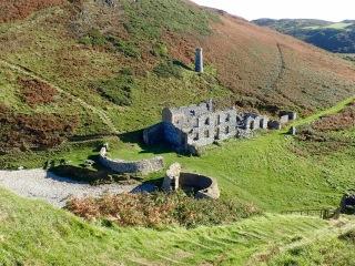 Factory ruins, Porth Llanlleiana