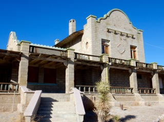 Rhyolite Railroad Depot, Death Valley