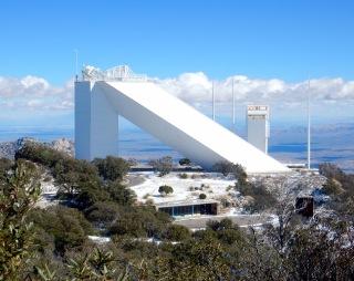 Solar telescope, Kitt Peak Observatory AZ