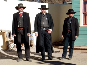 Gunfight reinactors, Tombstone AZ