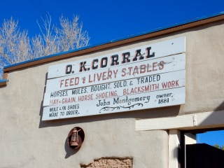 O.K. Corral, Tombstone AZ
