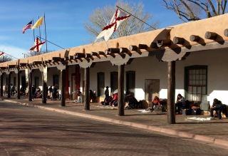 Palace of the Governors, Santa Fe NM