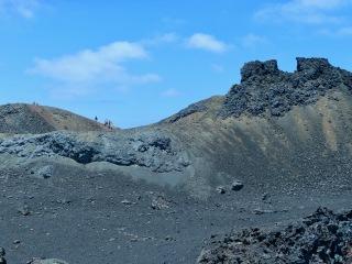 Lava field, Isabela