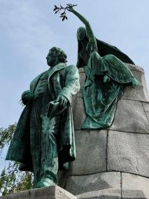 Statue of France Prešeren, Ljubljana SL