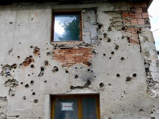 Bullet holes BH