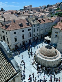 Onofrio's Big Fountain, Dubrovnik HR