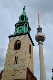 Marienkirche & TV Tower DE