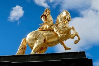 Statue of Augustus the Strong, Dresden DE