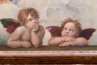 Raphael's Sistine Madonna, Dresden DE